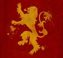 Game of Thrones House Lannister by dylanwest2010