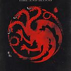 Game of Thrones House Targaryen by dylanwest2010