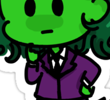 Tiny She-Hulk Sticker