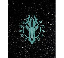 Darksiders Symbol (Blue) Photographic Print