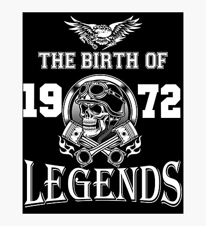 1972-THE BIRTH OF LEGENDS Photographic Print