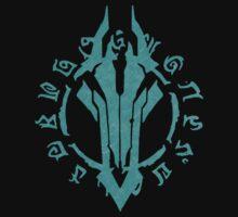 Darksiders Symbol (Blue) by Greytel
