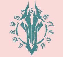 Darksiders Symbol (Blue) One Piece - Long Sleeve