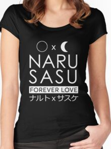 NaruSasu forever love Women's Fitted Scoop T-Shirt