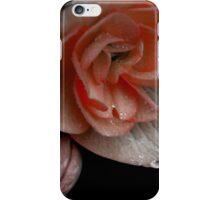 apricot begonia  iPhone Case/Skin