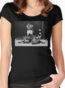 Muhammad Ali Women's Fitted Scoop T-Shirt