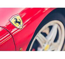 Ferrari Prancing Horse Photographic Print