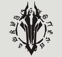 Darksiders Symbol (Black) by Greytel