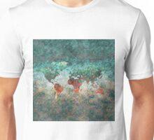 World Map Square Unisex T-Shirt