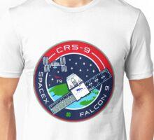 CRS (SpX) 9 Mission Logo Unisex T-Shirt