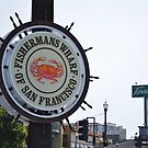 Fisherman's Wharf of San Francisco by Gregory Manno