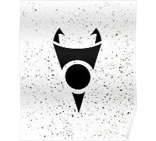 Irken Invader Symbol (Black) Poster