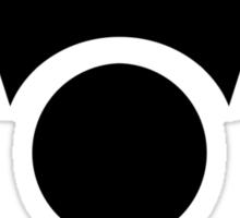Irken Invader Symbol (Black) Sticker