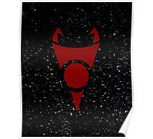 Irken Invader Symbol (Red) Poster