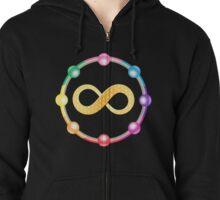 Infinity Healing logo t-shirt Zipped Hoodie