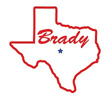 Brady Texas Photographic Print
