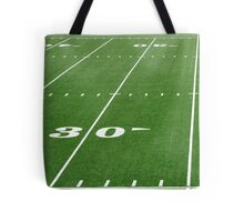 Football Field Hash Marks Tote Bag