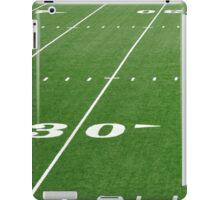Football Field Hash Marks iPad Case/Skin