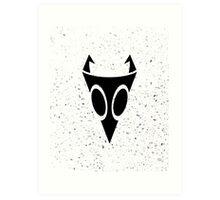Irken Military Symbol (Black) Art Print