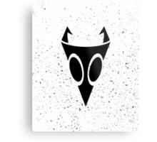 Irken Military Symbol (Black) Metal Print