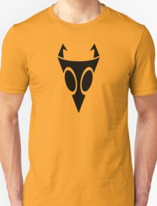 Irken Military Symbol (Black) Unisex T-Shirt