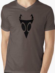 Irken Military Symbol (Black) Mens V-Neck T-Shirt