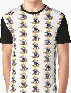 "Cloud Strife ""Ramen"" FF7 Graphic T-Shirt"