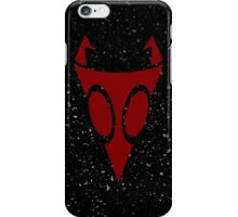 Irken Military Symbol (Red) iPhone Case/Skin