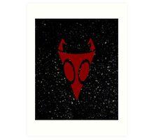 Irken Military Symbol (Red) Art Print