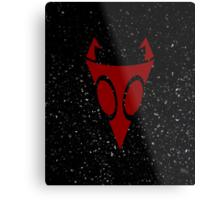 Irken Military Symbol (Red) Metal Print