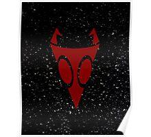 Irken Military Symbol (Red) Poster