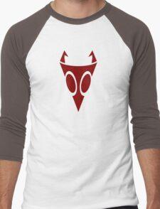 Irken Military Symbol (Red) Men's Baseball ¾ T-Shirt