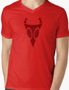 Irken Military Symbol (Red) Mens V-Neck T-Shirt