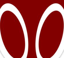 Irken Military Symbol (Red) Sticker