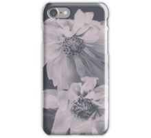 Floral Black White 2 iPhone Case/Skin
