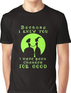 Wicked. Wicked Musical Quotes. Graphic T-Shirt