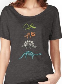 Fossil dinosaurs Women's Relaxed Fit T-Shirt