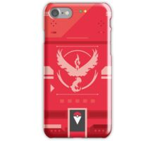 Team Valor Pokemon Case iPhone Case/Skin