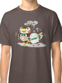 Blathers & Rowlet Classic T-Shirt