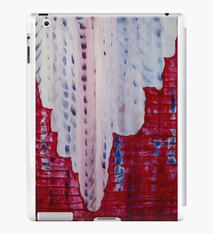 Snowy Canyon original painting iPad Case/Skin