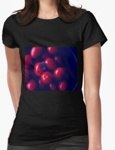 cherry tomatoes Womens Fitted T-Shirt