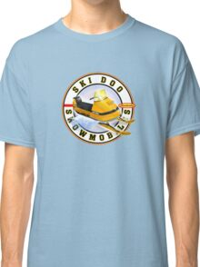 Ski Doo vintage snowmobiles  Classic T-Shirt