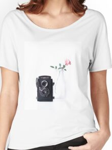 vintage rose Women's Relaxed Fit T-Shirt