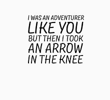 Elder Scrolls Skyrim Funny Quote Arrow To The Knee Unisex T-Shirt