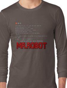 Terminal Code Mr.Robot Long Sleeve T-Shirt