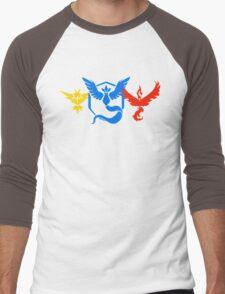 Pokemon Go Teams Men's Baseball ¾ T-Shirt