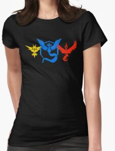 Pokemon Go Teams Womens Fitted T-Shirt