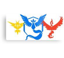 Pokemon Go Teams Metal Print