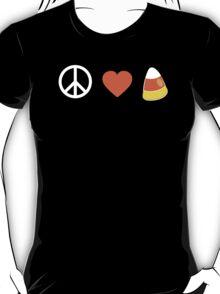 Peace Love Candy Corn T-Shirt
