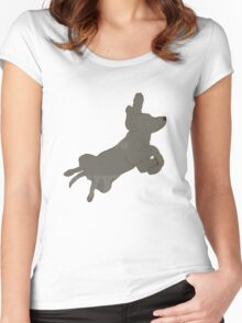 Weim 003 Women's Fitted Scoop T-Shirt
